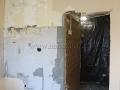 Демонтаж сантехнической кабины из гипсолита
