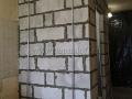 Установка стеновых маяков