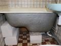 Ванна на пеноблоках