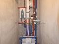 Устройство сантехнического узла, замена канализационного стояка, устройство вентиляции, установка инсталляции