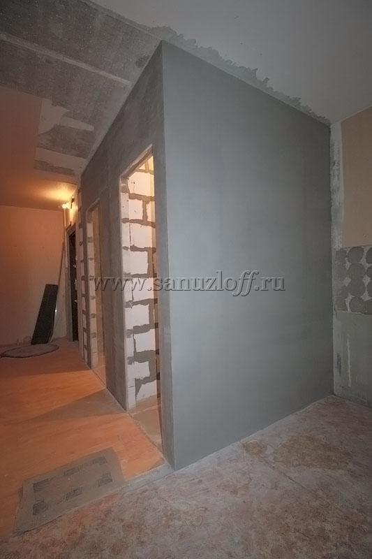 Сантехкабина в строительном исполнении