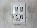 Тройной блок выключателей