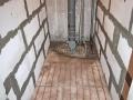 Кабельный «теплый» пол «AURA» в туалете