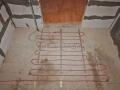 Кабельный «теплый» пол «AURA» в ванной комнате