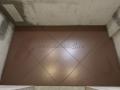 Укладка керамогранита по диагонали в ванной комнате