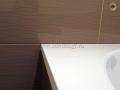 Подгонка плитки к ванне