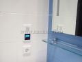 """Радио для ванной комнаты """"Gira"""", второй динамик был установлен в туалете"""