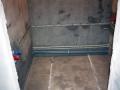 Паз в стене для установки ванны
