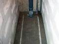 Стяжка пола в туалете